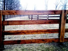 4-Rail Horse Fencing Dream Stables, Dream Barn, My Horse, Horses, Horse Fencing, Wood Fences, Barn House Design, Farm Plans, Barn Renovation