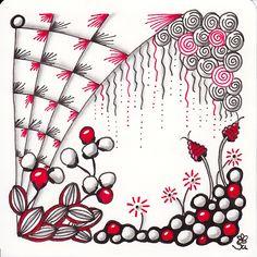 Zentangle, Tangles, Zendoodle, Kritzeln, meditatives Zeichnen