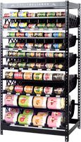 Painting Canned Food Rotation Shelf