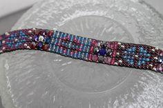 Handmade Artisan Beaded Bracelet  Sundance by DancingDogStudio, $110.00