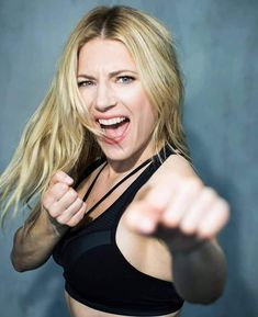 """The Hottest Pictures Of Katheryn Winnick (Lagertha Lothbrok) From The Hit Show """"Vikings"""" Viking Bracelet, Viking Jewelry, Canadian Actresses, Actors & Actresses, Taekwondo, Karate, Blond, Katheryn Winnick, Sundance Film Festival"""