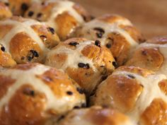 Maggie Beer's Hot Cross Buns recipe is perfect for Easter, when you would like to make homemade hot cross buns yourself rather than buying them. Cross Buns Recipe, Bun Recipe, Easter Recipes, Fall Recipes, Appetizer Recipes, Beer Recipes, Cooking Recipes, Yummy Recipes, Recipies