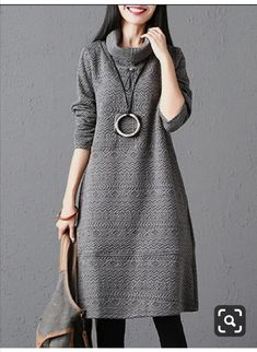Winter Mode Outfits, Winter Fashion Outfits, Iranian Women Fashion, Turkish Fashion, Kurta Designs, Casual Dresses, Casual Outfits, Modele Hijab, Stylish Work Outfits