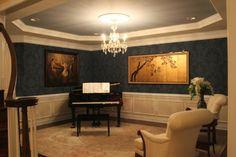Home and Garden Design Idea's | Idea | Piano Room