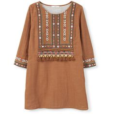 Shop for Bead embroidery dress by MANGO at ShopStyle. Kurti Neck Designs, Kurta Designs Women, Designer Kurtis, Kurti Embroidery Design, Embroidery Dress, Frock Fashion, Stylish Dresses For Girls, Pakistani Dresses Casual, Designs For Dresses