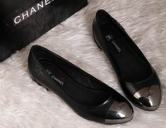 Chanel Ballet Flats with Steel Toes