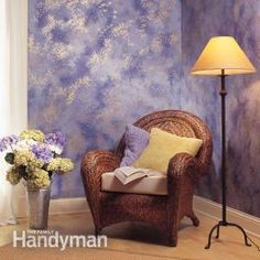 Of all the techniques for creating special effects with paint, none is easier or yields more attractive results than sponge painting. This article will walk you through the basics of sponge painting and give you a head start on the hard part: choosing paint colors.