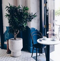 Coffee shop / Corner of Unido