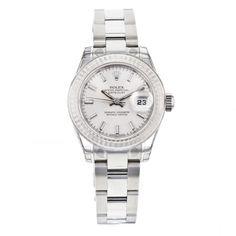 Ladies Rolex DateJust 26mm 179174 Stainless Steel Automatic Wrist Watch #Rolex #LuxurySportStyles