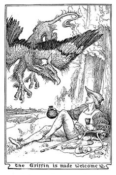 Henry Justice Ford - The pink fairy book, edited by Andrew Lang, 1897 (illustration 11) by Aeron Alfrey, via Flickr