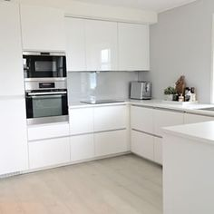 ikea kjøkken - Google-søk Kitchen Dining, Kitchen Cabinets, Ikea Home, Building Design, Minimalism, House, White Kitchens, Home Decor, Inspiration