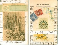 she has lots of examples of altered pages