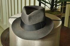 2657ab7ea1d The Casablanca Fedora by The Penman Hat Co. Brim Hat
