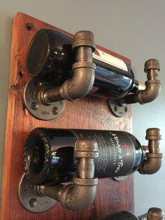 Industrial tubo estante del vino