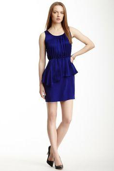 Peplum Silk Dress on HauteLook