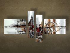 Pictura pictată manual este pictata prin combinarea culorilor acrilice și culorilor ulei. Tablou modern pentru apartamentele moderne și interior Living, Interior Modern, Abstract Canvas, Trendy Tree, Modern Interior