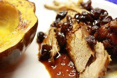 Cranberry Pork Roast in Crock pot