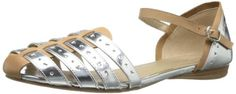 Kenneth Cole REACTION Womens Call The Ball FlatTan65 M US >>> Check out this great product.