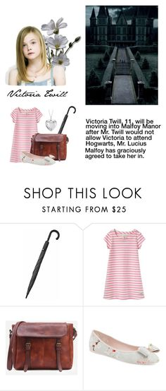 """Harry Potter OC Victoria Twill"" by princesscadence7 ❤ liked on Polyvore featuring Fulton, Joules, Ted Baker and Blue Nile"