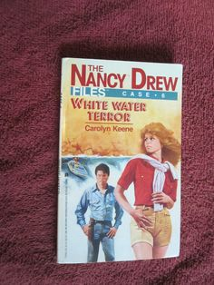 White Water Terror by Carolyn Keene Nancy Drew Files Case Young Adult Detective Nancy Drew Books, Detective, Mystery, Nostalgia, Childhood, Store, Water, Life, Infancy