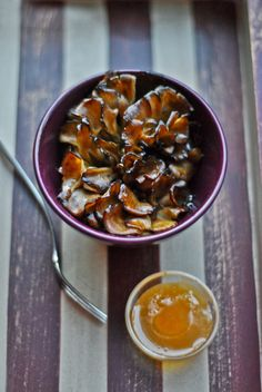 The Well-Seasoned Cook: Whip It Up Wednesday - Maitake Mushrooms Roasted in Butter and Honey