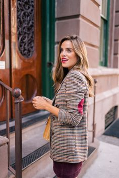 27 Fall Outfits To Copy Now - Fashion New Trends Casual Fall Outfits, Stylish Outfits, Fashion Outfits, Fashion Trends, Fashion Styles, Fashion Bloggers, Blazer Outfit, Gal Meets Glam, Look
