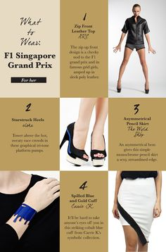 What To Wear | Singapore F1 Grand Prix | Travelshopa