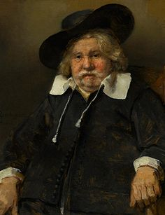 Rembrandt, Portrait of an Elderly Man, 1667. Oil on canvas, 81.9 x 67.7 cm. © Royal Picture Gallery Mauritshuis, The Hague (1118).