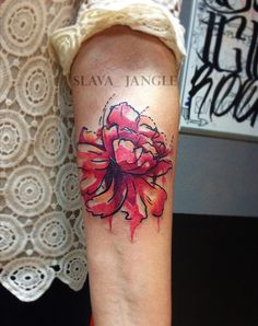 Акварельные татуировки | 192 фотографии