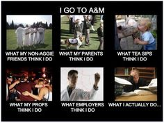Reason a Day to be a proud Aggie 3: I am an Aggie.