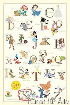 Walt Disney - The Disney Alphabet