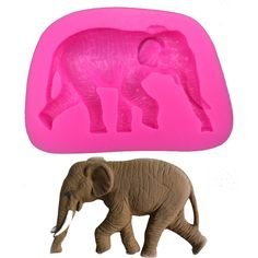 fondant cake decorating on sale at reasonable prices, buy Animal series Elephant Shaped DIY fondant cake silicone moulds chocolate for cupcake decoration kitchen Baking tools from mobile site on Aliexpress Now! Cake Decorating With Fondant, Cake Decorating Tools, The Kitchen Show, Baking Tools, Baking Supplies, Craft Supplies, Mold Making, Cake Mold, Resin Crafts