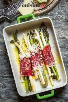 Une recette d'asperges au four à essayer d'urgence ! #recette#cuisine#asperge#plat Four, Dish