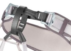 The CORAX is the versatile harness par excellence: easy to use and comfortable, it is designed for rock climbing, mountaineering or via ferrata. Mountaineering, Rock Climbing, Sandals, Design, Products, Easy, Accessories, Horse Harness, Legs