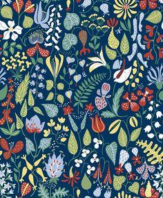 Moderni mummola: Wallpapers by Scandinavian Designers
