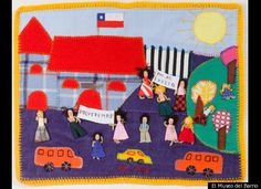 Latin American art in non-traditional materials. Most in the collection of El Museo del Barrio, NYC