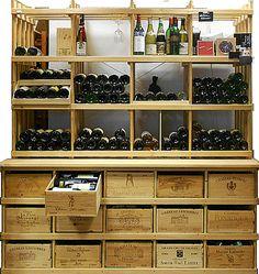 MS-Kombiregal - Weinregale für Bordeaux-OHK