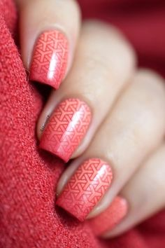 Gradient + stamping = ♥ | Marine Loves Polish