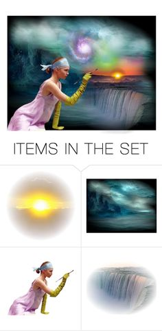 """""""Creation"""" by fairieprincessgoddess ❤ liked on Polyvore featuring art"""