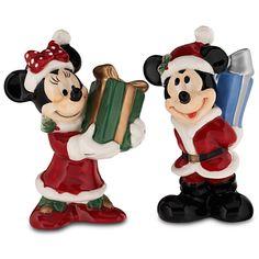 Mickey and Minnie Salt & Pepper Shaker Set