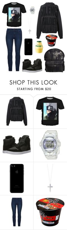 """""""Untitled #131"""" by rorschachsjournal ❤ liked on Polyvore featuring Haider Ackermann, Supra, Baby-G, Eddie Borgo and Shin Choi"""