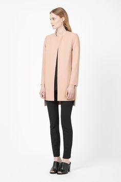 COS | Round-neck crepe blazer