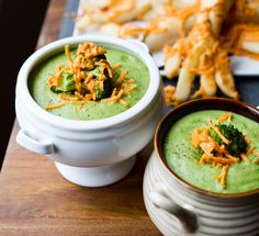 Recipes for the Vitamix: Cheezy Broccoli Soup