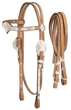 Royal King Silver V-Brow Headstall w/Reins Horse D by Royal King. Save 26 Off!. $68.40. Hand engraved silver trim mounted on fine bridle leather. Complete with reins.