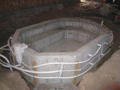 Gallery For > Diy Concrete Hot Tub
