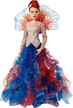 Shop DC Comics Aquaman Royal Gown Mera Doll Blue/Red at Best Buy. Find low everyday prices and buy online for delivery or in-store pick-up. Queen Costume, Costume Dress, Aquaman Cosplay, Aquaman Costume, Dc Cosplay, Mera Dc Comics, Robin Dc, Mermaid Princess, Layered Skirt