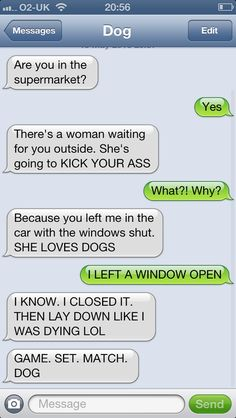 LOL!  Hilarious Texts From Cats and Dogs