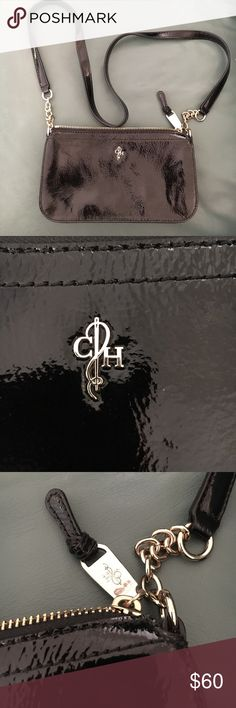 Cole Haan Bag Beautiful Cole Haan brand patent leather shoulder bag. Perfect condition/never worn. Cole Haan Bags Shoulder Bags