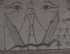 Egyptian concept of the duat, and transition/test of each soul after dying. If consciousness has been attained, kept through the death process, and the soul can truthfully answer that it did not break the 42 laws, it would be reincarnated or evolve to the next level. Consciousness, Egyptian, The Book, Spirituality, Death, Concept, Explore, Books, Key