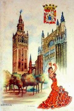 Postales Antiguas de Andalucía: Sevilla